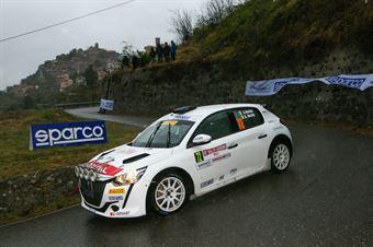 Andrea Nucita, Giuseppe Nucita (Peugeot 208 Rally4 #74), CAMPIONATO ITALIANO RALLY SPARCO
