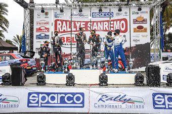 Premiazione, CAMPIONATO ITALIANO RALLY SPARCO