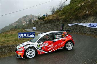Marcello Razzini, Rudy Pollet (Skoda Fabia R5 #23, AUTOMOB. COLLECCHIO CORSE), CAMPIONATO ITALIANO RALLY SPARCO