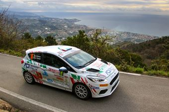 Emanuele Rosso, Andrea Ferrari (Ford Fiesta Rally4 #85), CAMPIONATO ITALIANO RALLY SPARCO