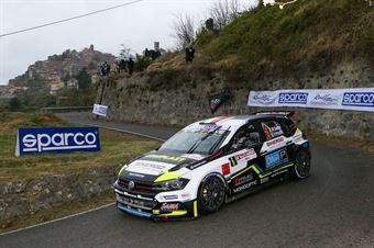 Marco Signor, Francesco Pezzoli (Volkswagen Polo R5 #6, SAMA RACING A.S.D.), 68° Rallye Sanremo, CAMPIONATO ITALIANO RALLY SPARCO