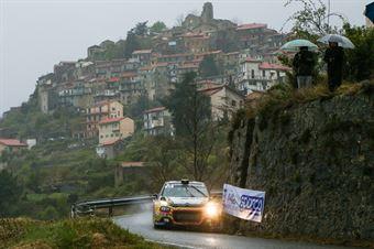 Rachele Somaschini,Nicola Arena (Citroen C3 R5 #36), 68° Rallye Sanremo, CAMPIONATO ITALIANO RALLY SPARCO