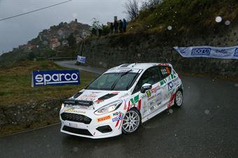 Mattia Vita, Massimiliano Bosi (Peugeot 208 Rally4 R2C #83, Gass Racing), CAMPIONATO ITALIANO RALLY SPARCO