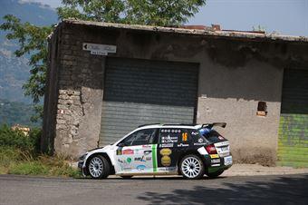Giandomenico Basso Lorenzo Granai, Skoda Fabia Evo RC2 #16, ITALIAN RALLY CHAMPIONSHIP SPARCO