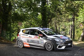 Daniele Campanaro Irene Porcu, Ford Fiesta RC4 #107, ITALIAN RALLY CHAMPIONSHIP SPARCO