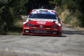 Simone Campedelli Tania Canton,  Volkswagen Polo Gti RC2 #27, ITALIAN RALLY CHAMPIONSHIP SPARCO