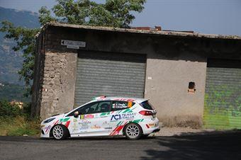 Alessandro Casella Rosario Siragusano, Ford Fiesta RC4 #98, ITALIAN RALLY CHAMPIONSHIP SPARCO