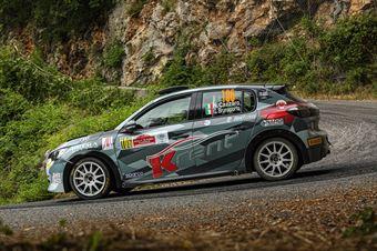 Nicola Cazzaro Giovanni Brunaporto, Peugeot 208 RC4 #106, ITALIAN RALLY CHAMPIONSHIP SPARCO