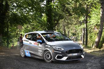 Matteo Ceriali Luca Ferraris, Ford Fiesta RC5 #111, ITALIAN RALLY CHAMPIONSHIP SPARCO