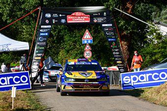 Tommaso Ciuffi Nicolo Gonella, Volkswagen Polo Gti RC2 #18, ITALIAN RALLY CHAMPIONSHIP SPARCO