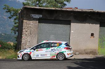 Giorgio Cogni Gabriele Zanni, Ford Fiesta RC4 #92, ITALIAN RALLY CHAMPIONSHIP SPARCO