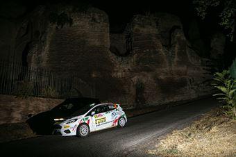 Roberto Daprà Chiara Lombardi, Ford Fiesta RC4 #95, ITALIAN RALLY CHAMPIONSHIP SPARCO