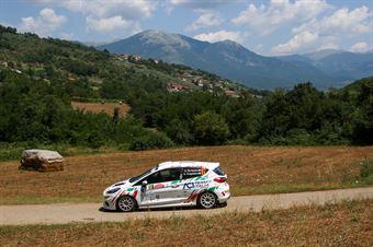 Guglielmo De Nuzzo Andrea Colapietro, Ford Fiesta RC4 #97, ITALIAN RALLY CHAMPIONSHIP SPARCO