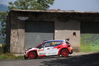Damiano De Tommaso Giorgia Ascalone, Citroen C3 RC2 #20, ITALIAN RALLY CHAMPIONSHIP SPARCO