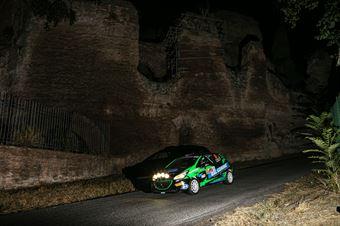 Fabio Farina Luca Guglielmetti, Peugeot 208 RC4 #104, ITALIAN RALLY CHAMPIONSHIP SPARCO