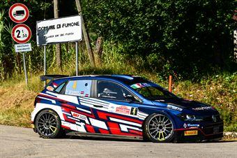 Nikolay Gryazin Konstantin Aleksandrov, Volkswagen Polo Gti RC2 #4, ITALIAN RALLY CHAMPIONSHIP SPARCO