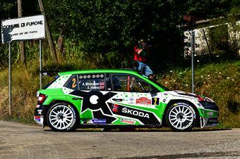 Andreas Mikkelsen Ola Floene, Skoda Fabia Evo RC2 #2, ITALIAN RALLY CHAMPIONSHIP SPARCO