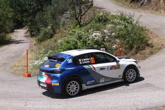 Andrea Nucita Giuseppe Nucita, Peugeot 208 RC4 #103, ITALIAN RALLY CHAMPIONSHIP SPARCO