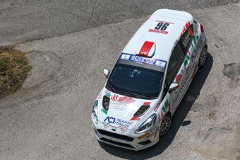 Riccardo Pederzani Daniel Pozzi, Ford Fiesta RC4 #96, ITALIAN RALLY CHAMPIONSHIP SPARCO
