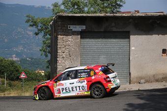 Patrizia Perosino Veronica Verzoletto,  Skoda Fabia RC2 #88, ITALIAN RALLY CHAMPIONSHIP SPARCO