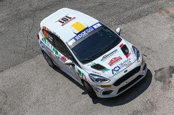 Andrea Piccardo Luca Migone, Ford Fiesta RC4 #101, ITALIAN RALLY CHAMPIONSHIP SPARCO