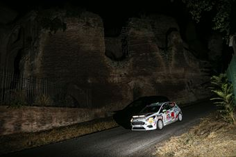 Davide Porta Andrea Segir, Ford Fiesta RC4 #99, ITALIAN RALLY CHAMPIONSHIP SPARCO