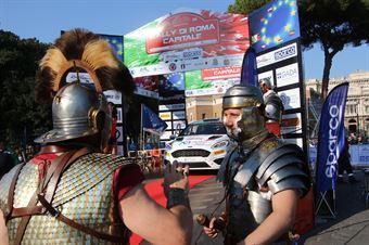 Roma Parade, ITALIAN RALLY CHAMPIONSHIP SPARCO