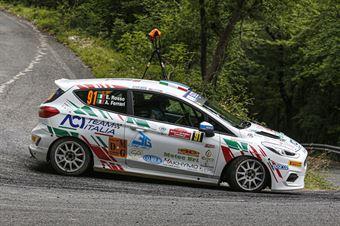 Emanuele Rosso Andrea Ferrari, Ford Fiesta RC4 #91, ITALIAN RALLY CHAMPIONSHIP SPARCO