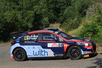 Umberto Scandola Guido D'Amore, Hyundai i20 RC2 #12, ITALIAN RALLY CHAMPIONSHIP SPARCO