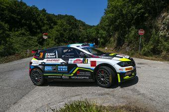 Marco Signor Patrick Bernardi, Volkswagen Polo Gti RC2 #79, ITALIAN RALLY CHAMPIONSHIP SPARCO