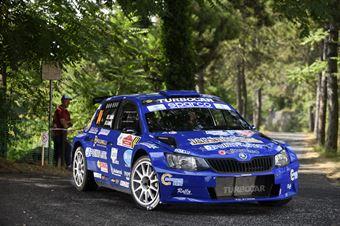 Liberato Sulpizio Alessio Angeli, Skoda Fabia RC2 #84, ITALIAN RALLY CHAMPIONSHIP SPARCO