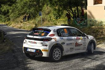 Jacopo Trevisani Fabio Grimaldi, Peugeot 208 RC4 #90, ITALIAN RALLY CHAMPIONSHIP SPARCO