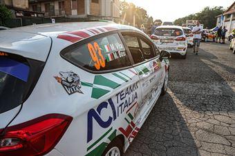 Verifiche tecniche, ITALIAN RALLY CHAMPIONSHIP SPARCO