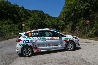 Mattia Vita Massimiliano Bosi, Ford Fiesta RC4 #93, ITALIAN RALLY CHAMPIONSHIP SPARCO