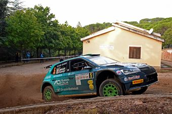 Battistolli Alberto Scattolin Simone, Skoda Fabia R5 #5, CAMPIONATO ITALIANO RALLY TERRA