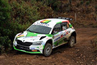 Bulacia Wilkinson Bruno Penate Lopez Rogelio Luiz, Skoda Fabia R5 #6, CAMPIONATO ITALIANO RALLY TERRA