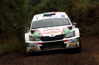 Giuseppe Dettori Carlo Pisano, Skoda Fabia R5 #9, CAMPIONATO ITALIANO RALLY TERRA