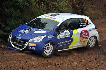 Michele Liceri – Salvatore Giulio Mendola, Peugeot 208 VTI #37, CAMPIONATO ITALIANO RALLY TERRA