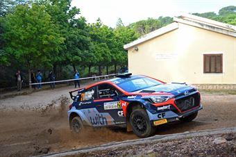 Scandola Mattia   Franco Alessandro, Hyundai i20 R5 #21, CAMPIONATO ITALIANO RALLY TERRA