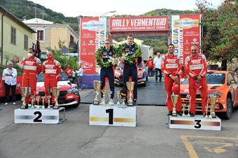 Podio, CAMPIONATO ITALIANO RALLY TERRA
