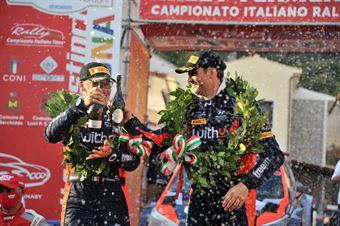Scandola Umberto   Danilo Fappani, Podio, CAMPIONATO ITALIANO RALLY TERRA