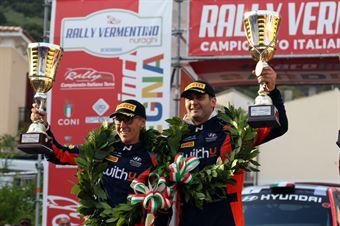 Scandola Umberto Fappani Danilo, Podio, CAMPIONATO ITALIANO RALLY TERRA