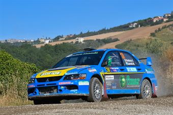 Filippo Baldinini, Mirko Gabrielli, Mitsubishi Lancer Evo IX R4 #38, Scuderia Malatesta, CAMPIONATO ITALIANO RALLY TERRA