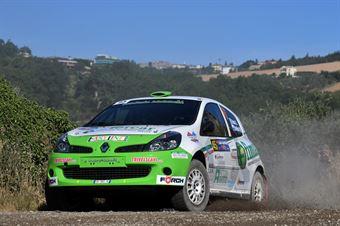 Andrea Bucci, Manuel Barbieri, Renault Clio R3C #45, Scuderia Malatesta, CAMPIONATO ITALIANO RALLY TERRA