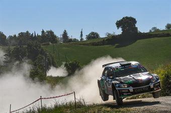 Mattia Codato, Christian Dinale, Skoda Fabia R5 #24, Skoda Fabia R5 #24, Pintarally Motorsport, CAMPIONATO ITALIANO RALLY TERRA