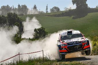 Giacomo Costenaro, Justin Bardini, Hyundai i20 NG #11, Hawk Racing Clu, CAMPIONATO ITALIANO RALLY TERRA