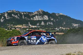 Giacomo Costenaro, Justin Bardini, Hyundai i20 NG #11, Hawk Racing Club, CAMPIONATO ITALIANO RALLY TERRA