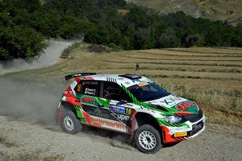 Giuseppe Dettori, Carlo Pisano, Skoda Fabia R5 #16, Autoservice Sport, CAMPIONATO ITALIANO RALLY TERRA