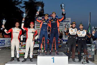Podio Campionato Italiano Rally Terra, CAMPIONATO ITALIANO RALLY TERRA