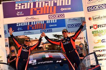 Umberto Scandola, Guido DAmore, Hyundai I20 NG R5 #6, Movisport, CAMPIONATO ITALIANO RALLY TERRA